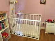Babybay original Farbe weiß mit