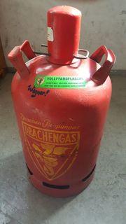 Propangas Flasche