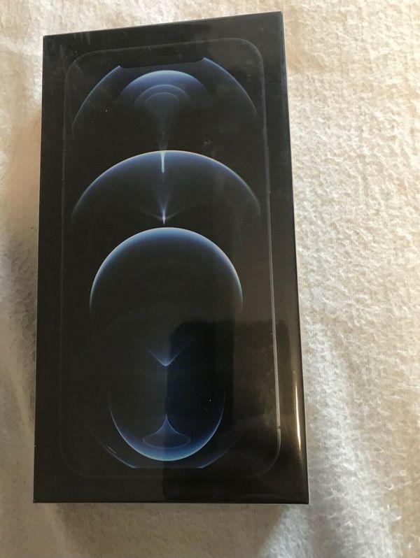 iPhone 12 pro Max 512 gb pacific Blue verschweißt mit Rechnung