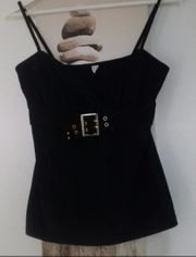 Shirt Top schwarz Gr S