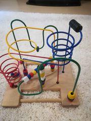 Holzspielzeug Motorikschleife Lernspielzeug ab 3