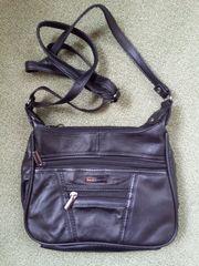 Kleine Damenhandtasche - Umhängetasche aus Leder