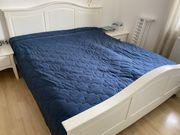 Landhausbett weiß Bett im Landhausstil