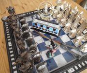 Harry Potter Schachbrett mit Sammler-Zubehör