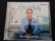 CD Wolfgang Lippert Glücklich neu