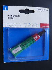 Kalt-Emaille beige auch zu verschicken