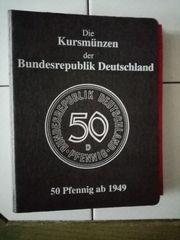 50 Pfennig Kursmünzenalbum von 1949-1994