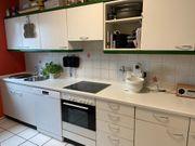 Küche weiß inkl Geräten günstig
