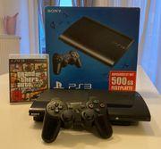 PS3 mit 500 GB und