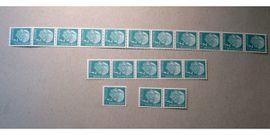 Briefmarken: BRD Rollenmarken Heuss I, 11er-,5er Streifen