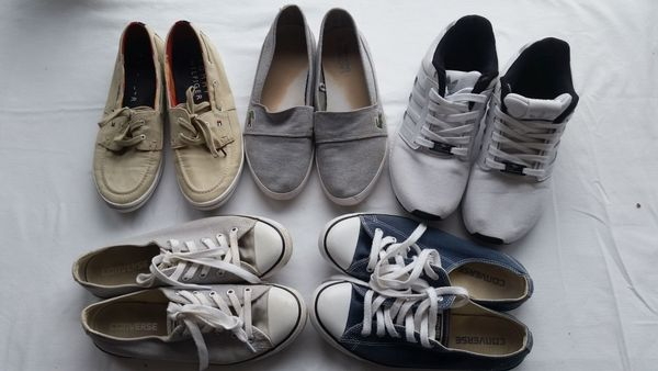 pretty nice 18961 697e4 Freizeitschuhe/Sneakers Chucks, Hilfiger, Lacoste, Adidas ...