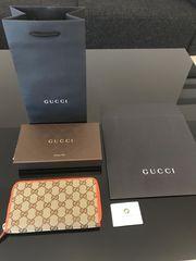 Gucci Geldbörse Portemonnaie Monogramm 363423