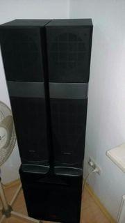 Super schmale Standboxen 2X 100