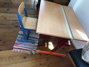 Kinder Schreibtisch verstellbarer Tisch Kinderstuhl