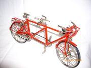 Miniatur Tandem Fahrrad Six Rider