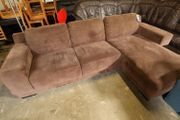 Couch Sofa in L-Form 215x165 -