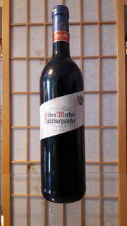 Rotwein Erben Merlot 2006 Lieblich