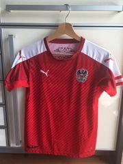 Österreichisches Fußball Nationalteam Shirt Gr