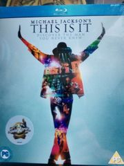 bluray michael jackson
