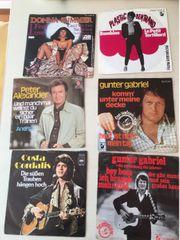 Schallplatten 153 Singles - vorwiegend Schlager