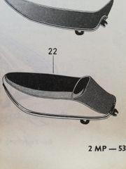 Sitzbank für Puch
