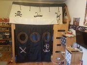 Hochbett Piraten Komplettset Buche massiv