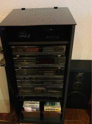 Sony Stereoanlage Turm