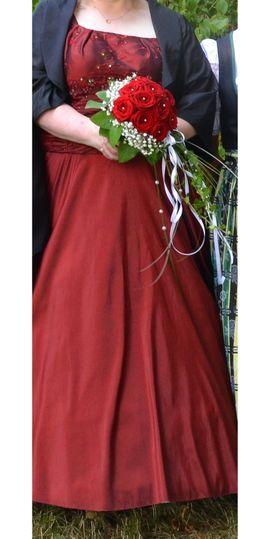 Hochzeitskleid Abendkleid weinrot: Kleinanzeigen aus Schwabhausen - Rubrik Alles für die Hochzeit
