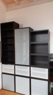 Ikea Besta schwarzbraun