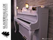 Wunderschönes Schimmel Barock Klavier weiß