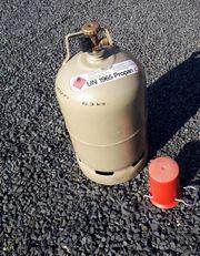 Gasflasche 5 Kg voll gefüllt