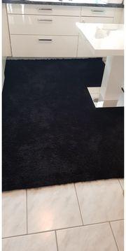 Schwarz teppich