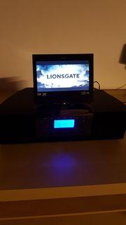 Tragbarer LCD-Fernseher -Radio-CD-DVD-Player