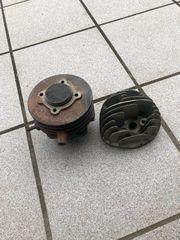 Vespa Zylinder und Kolben