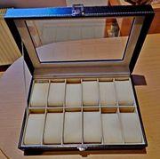 Für Sammler Liebhaber Uhren-Schatulle für