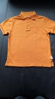 Poloshirt Kangaroos Kurzarm orange Größe