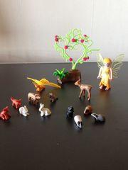 Playmobil Fee mit Tieren