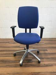 Bürodrehstuhl von Drabert gebraucht blau