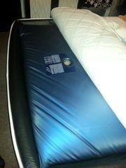 Wasser Matratze Blau 140 cm -