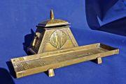 Schreibgarnitur Schreibset Schreibtischgarnitur Antik