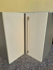 Küchen Wand Eckschrank Weiß Lack