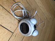 Radiowecker von Soundmaster Uhrzeitprojektion Aufwachlicht