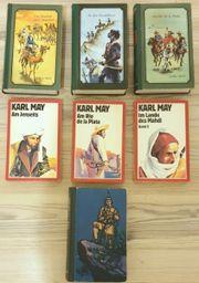 Karl May Paket mit 7