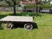 Alten Brückenwagen