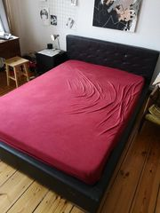 Bett zu verschenken 140 200