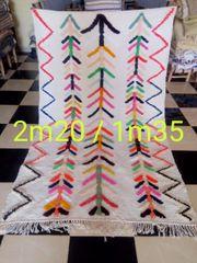 Marokkanische Teppiche aus dem hohen