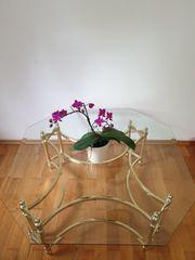Couchtisch Glas Messing - Haushalt & Möbel - gebraucht und neu ...