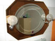 BAD-Spiegel Zweifarbig mit Lampen diverse