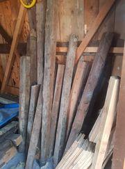 100 Jahre alte Holzbalken