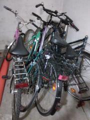 ich biete 5 Fahrräder zum